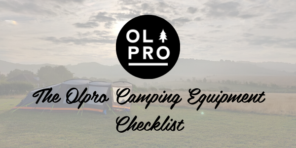 The OLPRO Camping Equipment Checklist